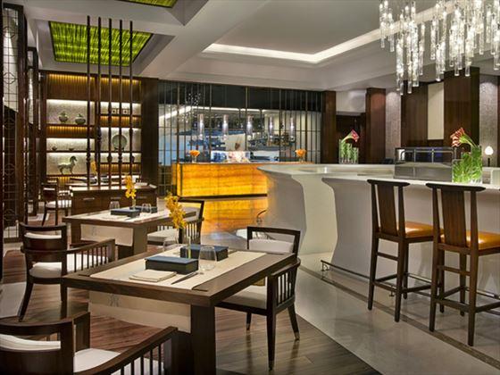 Blue Jade restaurant at Ritz Carlton