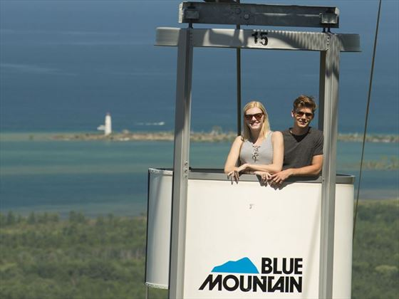 Blue Mountain gondola ride