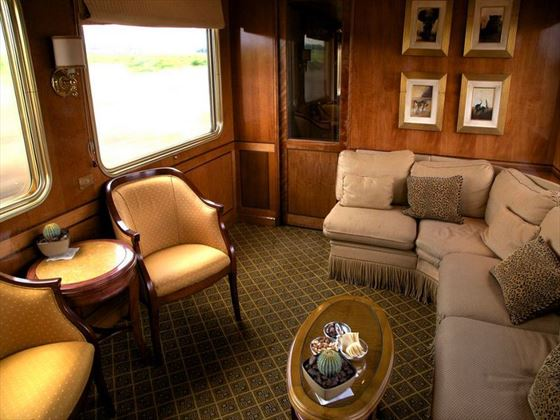 Blue Train lounge area