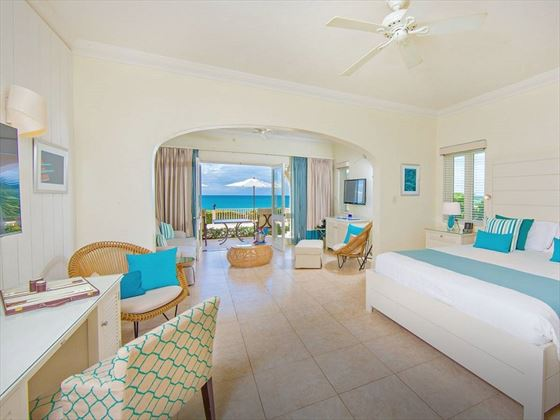 Newly refurbished Cove Suite