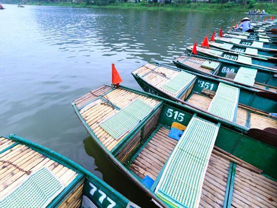 Boats in Ninh Binh
