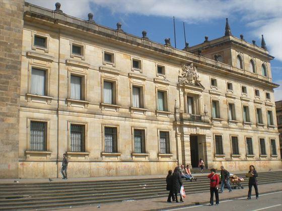 Bogota city centre