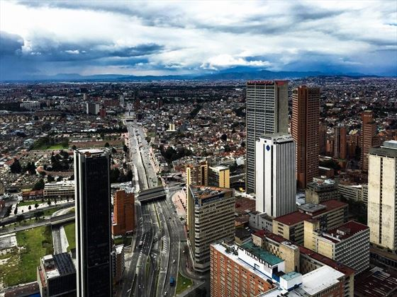 The city of Bogota