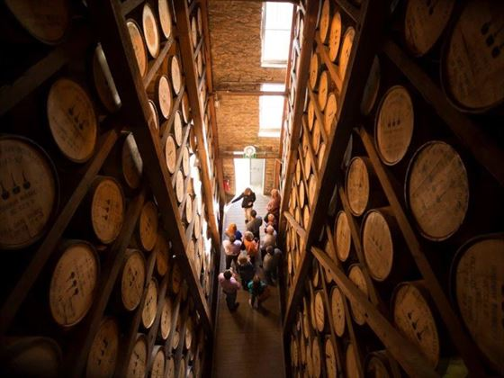 Bourbon Rickhouse tour, Kentucky