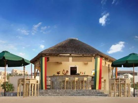 The Cove Rotana Breaker's Beach Bar