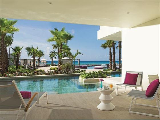 Swim out terrace