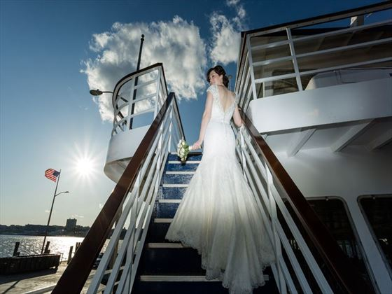 Bride on board
