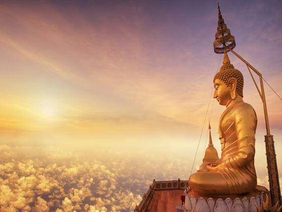 Buddha in Wat Tham Seua, Krabi