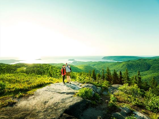 Hiking in Cape Breton