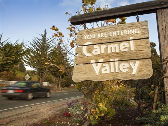 Heading into Carmel Valley