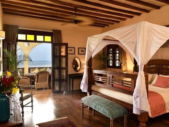 Casa Amarillo bedroom