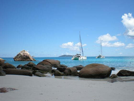 A private romance on board your own catamaran