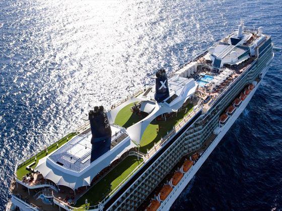 Ship exterior