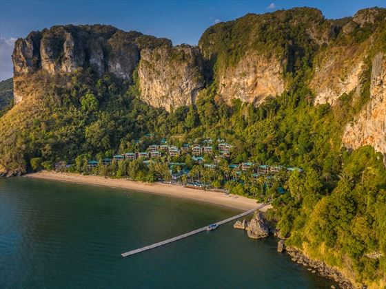Aerial view of Centara Grand Beach Resort, Krabi