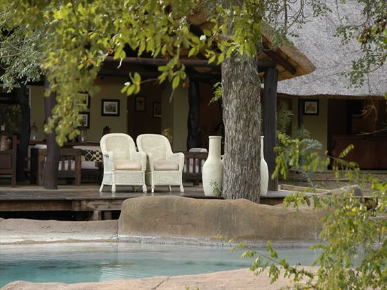 Chapungu Luxury Tented Camp pool