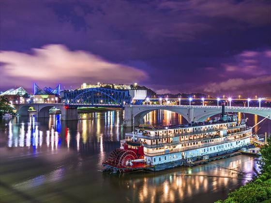 Steamboat in Chatanooga, Tennessee