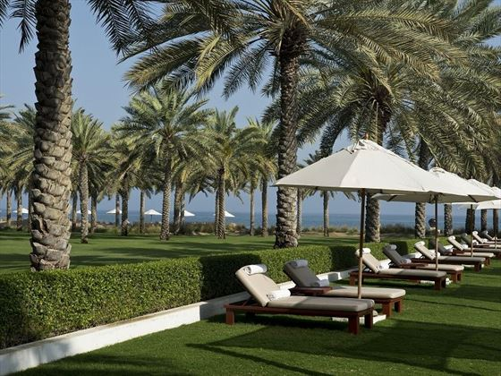 The Chedi - Oman gardens
