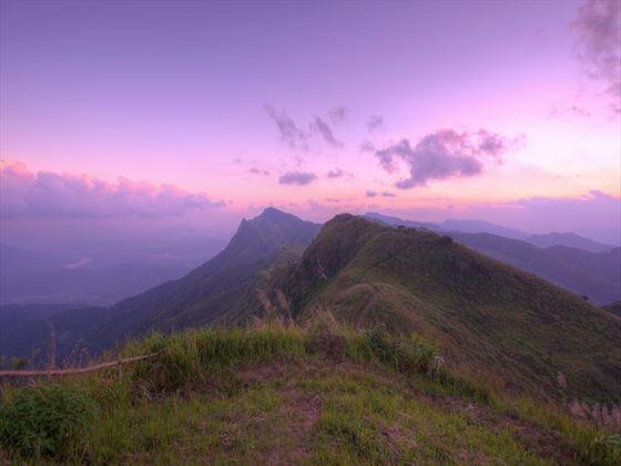 Chiang Rai mountain top