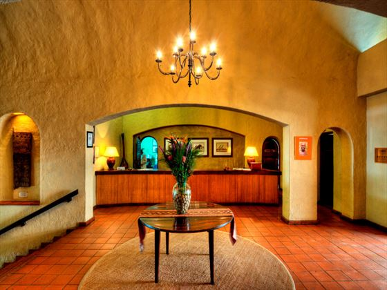 Chobe Game Lodge reception area