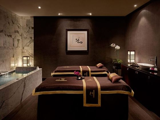 Chuan Spa treatment room at The Langham Hotel Auckland