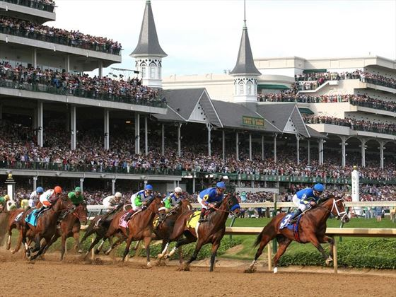 Churchill Downs horse racing