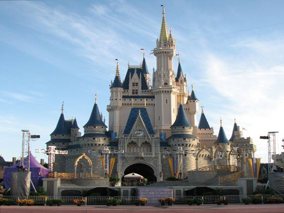 Cinderella Castle at Walt Disney Resort
