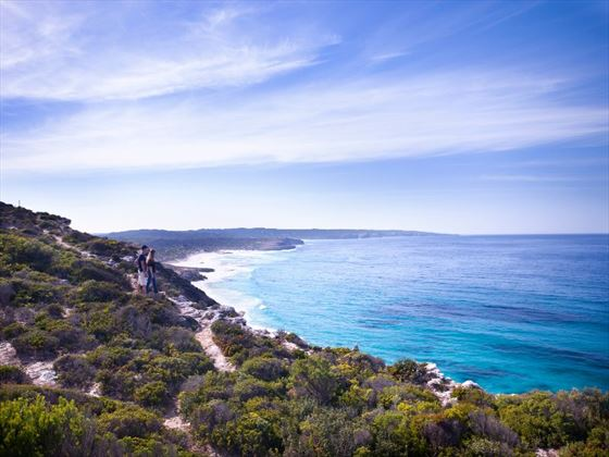 Clifftop walks at Southern Ocean Lodge