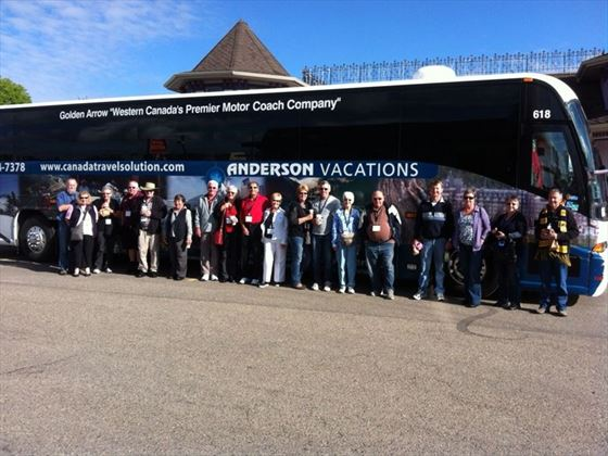 Anderson Vacations Coach