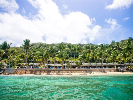 View of Coco de Mer
