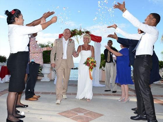 Weddings at the Coco Reef