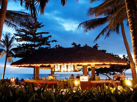 Coconut bar at Katathani Phuket Beach Resort Hotel