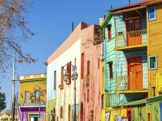 Colourful Neighbourhoods in Buenos Aires