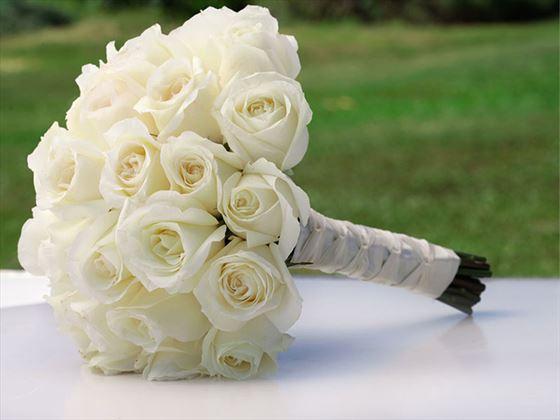 The brides bouqet
