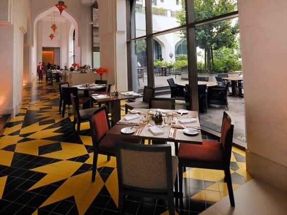 Conservatory restaurant at Al Manzil