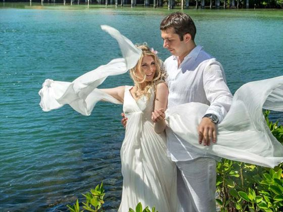 Beautiful weddings at Constance Le Prince Maurice