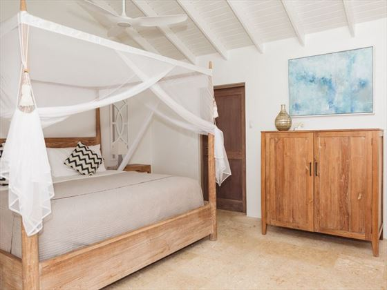 Room interiors at Cooper Island