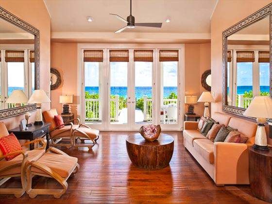 Coral Sands cottage living room
