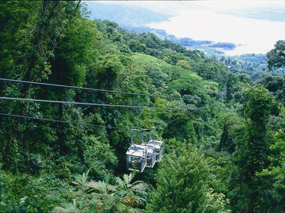 Costa Rica sky tram