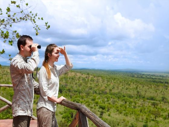 Spend time as a couple on a true safari