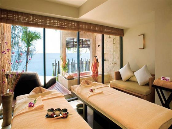 Couples spa treatment room at Centara Villas Phuket