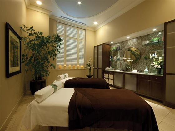 Couple's Spa Treatment Room