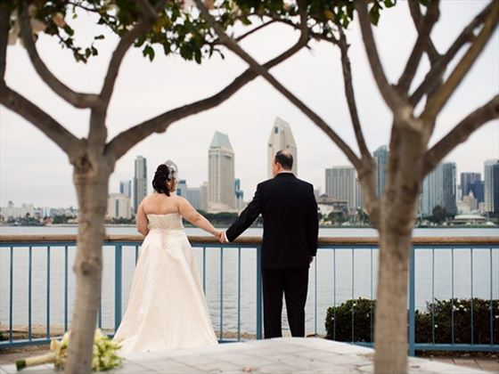 Beautiful bay weddings, San Diego