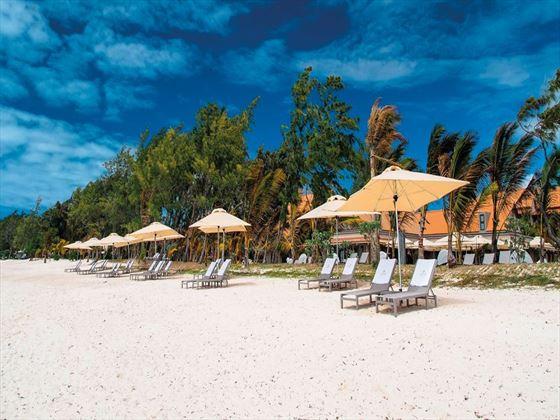 Beautiful beach at Maritim Crystals Beach