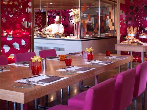 CuiScene restaurant at Fairmont Bab Al Bahar