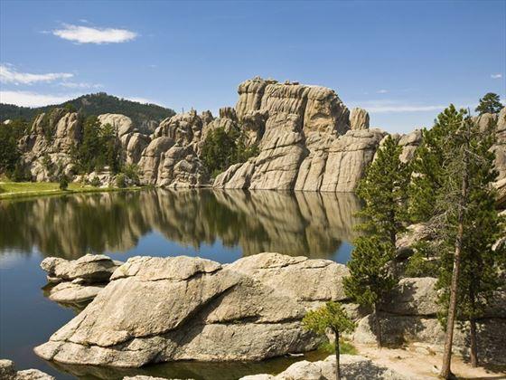 Black Hills landscape at Custer State Park