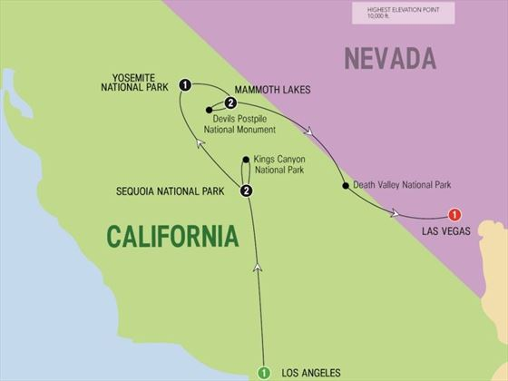 California's Great National Parks