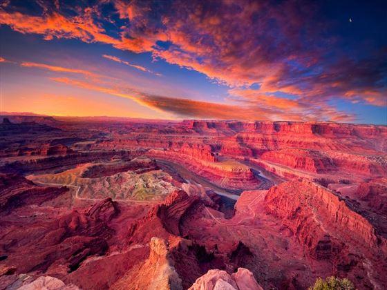 Dead Horse Canyon near Moab, Utah