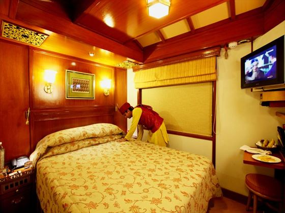 Deluxe Double Cabin on the Maharajas Express