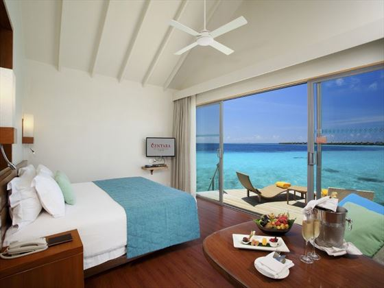 Deluxe Water Villa at Centara Ras Fushi Resort & Spa