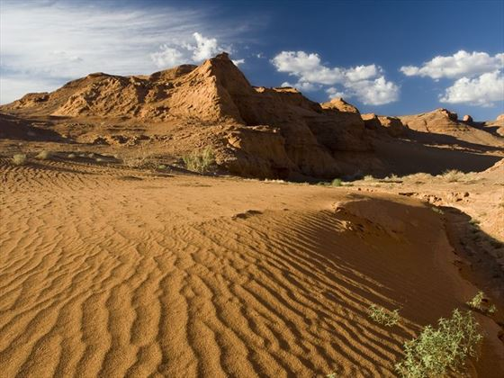 Desert and canyons of Hermen Cav